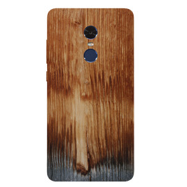Wooden Art Printed Case Cover For Redmi Note 4 by Mobiflip