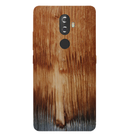 Wooden Art Printed Case Cover For Lenovo K8 Plus by Mobiflip