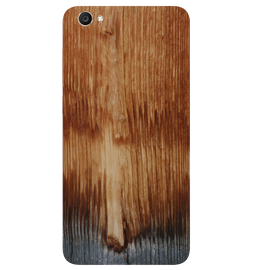 Wooden Art Printed Case Cover For VIVO Y55 by Mobiflip