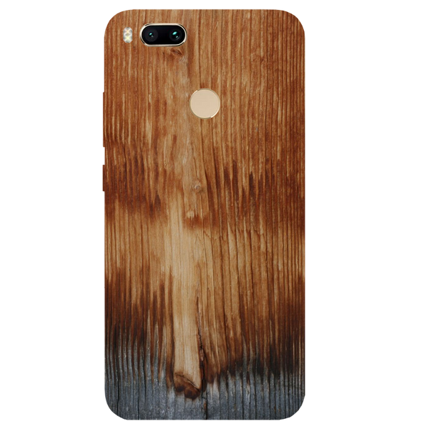 Wooden Art Printed Case Cover For Redmi MI A1 by Mobiflip