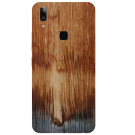 Wooden Art Printed Case Cover For VIVO V9 Youth by Mobiflip