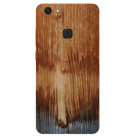 Wooden Art Printed Case Cover For VIVO V7 Plus by Mobiflip
