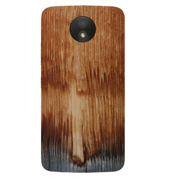 Wooden Art Printed Case Cover For Motorola C Plus by Mobiflip
