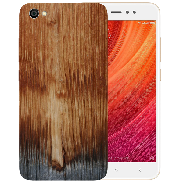 Wooden Art Printed Case Cover For Redmi Y1 Lite by Mobiflip