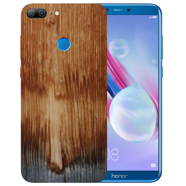 Wooden Art Printed Case Cover For HONOR 9 Lite by Mobiflip