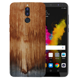 Wooden Art Printed Case Cover For HONOR P9I by Mobiflip