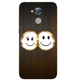 Smiling Face Printed Case Cover For HONOR Holly4 by Mobiflip