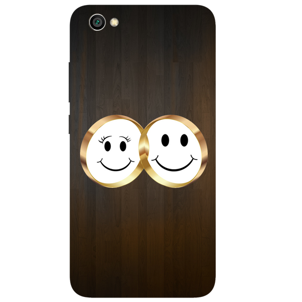 Smiling Face Printed Case Cover For Redmi Y1 Lite by Mobiflip