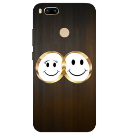 Smiling Face Printed Case Cover For Redmi MI A1 by Mobiflip