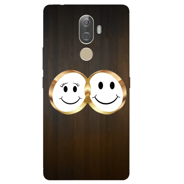 Smiling Face Printed Case Cover For Lenovo K8 Note Plus by Mobiflip