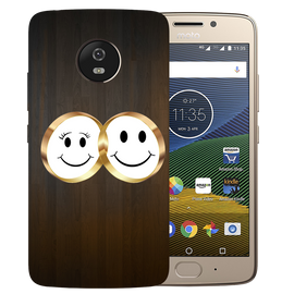 Smiling Face Printed Case Cover For Motorola G5 by Mobiflip