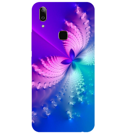 Butterfly Art Printed Case Cover For VIVO V9 Youth by Mobiflip