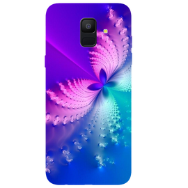 Butterfly Art Printed Case Cover For Samsung A6 by Mobiflip