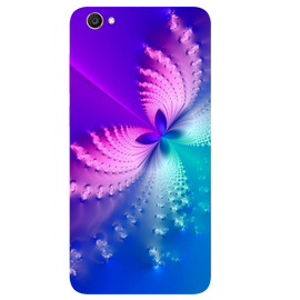 Butterfly Art Printed Case Cover For VIVO Y55 by Mobiflip