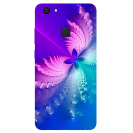 Butterfly Art Printed Case Cover For VIVO V7 Plus by Mobiflip