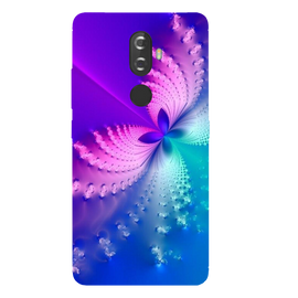 Butterfly Art Printed Case Cover For Lenovo K8 Plus by Mobiflip