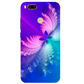 Butterfly Art Printed Case Cover For Redmi MI A1 by Mobiflip