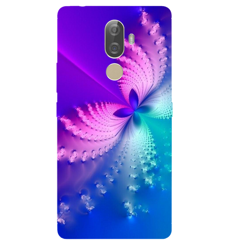 Butterfly Art Printed Case Cover For Lenovo K8 Note Plus by Mobiflip