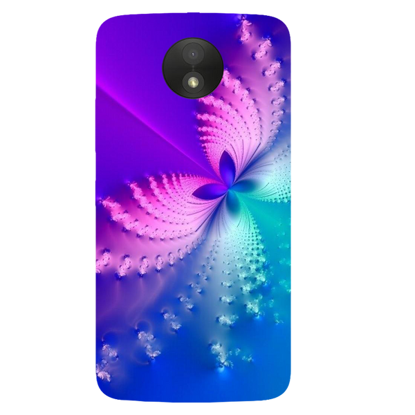 Butterfly Art Printed Case Cover For Motorola C Plus by Mobiflip