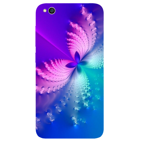 Butterfly Art Printed Case Cover For Redmi 5A by Mobiflip