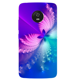 Butterfly Art Printed Case Cover For Motorola G5 by Mobiflip
