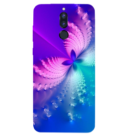 Butterfly Art Printed Case Cover For HONOR P9I by Mobiflip