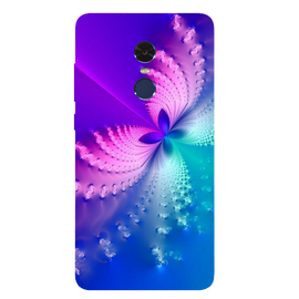 Butterfly Art Printed Case Cover For Redmi Note 4 by Mobiflip