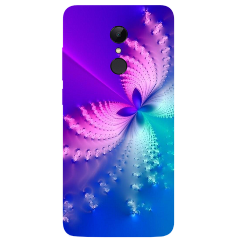 Butterfly Art Printed Case Cover For Redmi 5 by Mobiflip