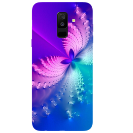 Butterfly Art Printed Case Cover For Samsung A6 Plus by Mobiflip