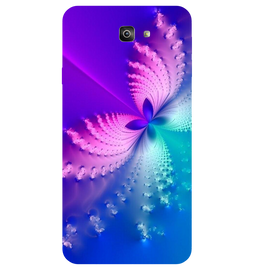 Butterfly Art Printed Case Cover For Samsung J7 Prime 2 by Mobiflip