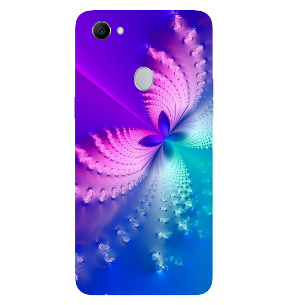 Butterfly Art Printed Case Cover For OPPO F7 by Mobiflip