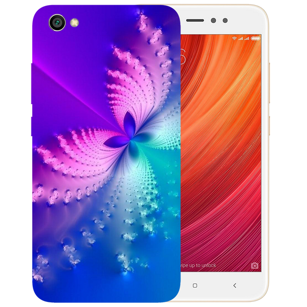 Butterfly Art Printed Case Cover For Redmi Y1 Lite by Mobiflip