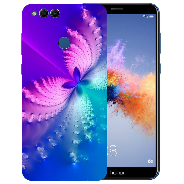 Butterfly Art Printed Case Cover For HONOR 7X by Mobiflip