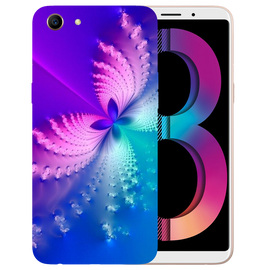 Butterfly Art Printed Case Cover For OPPO A83 by Mobiflip