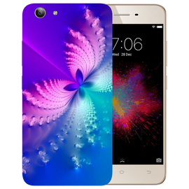 Butterfly Art Printed Case Cover For VIVO Y53 by Mobiflip