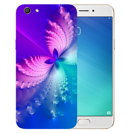 Butterfly Art Printed Case Cover For OPPO F3 by Mobiflip