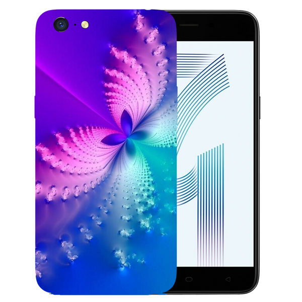 Butterfly Art Printed Case Cover For OPPO A71 by Mobiflip