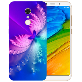 Butterfly Art Printed Case Cover For Redmi 5 Plus by Mobiflip