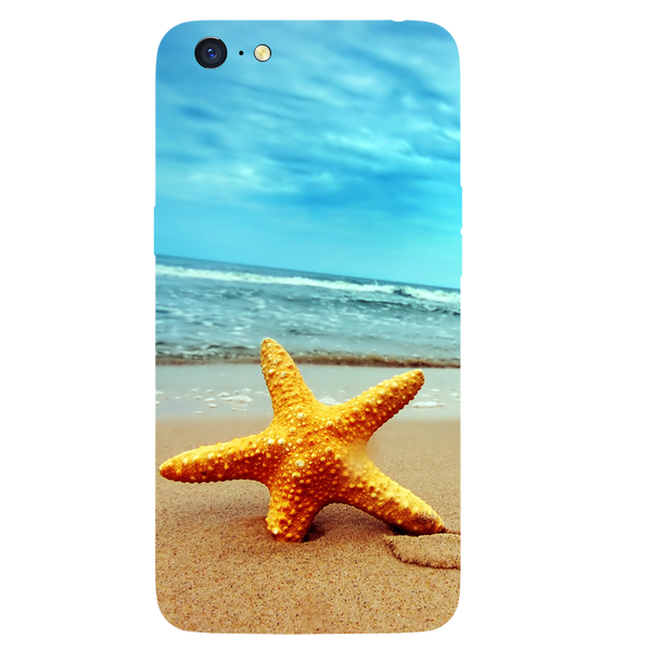 Star Fish Printed Case Cover For OPPO A71 by Mobiflip