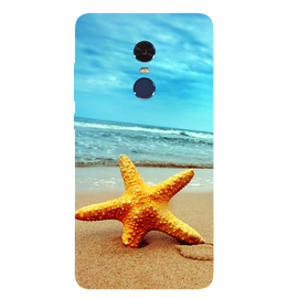Star Fish Printed Case Cover For Redmi Note 4 by Mobiflip