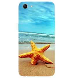 Star Fish Printed Case Cover For OPPO A83 by Mobiflip