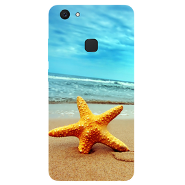 Star Fish Printed Case Cover For VIVO V7 Plus by Mobiflip