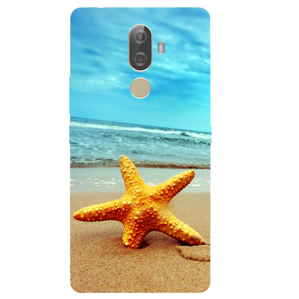 Star Fish Printed Case Cover For Lenovo K8 Note Plus by Mobiflip