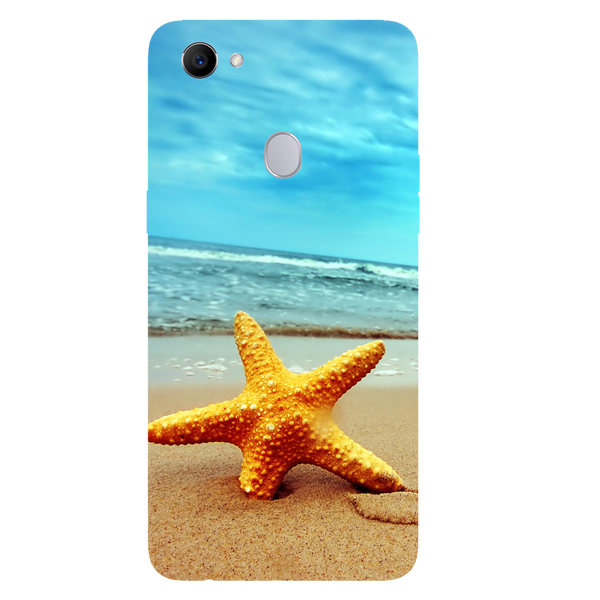 Star Fish Printed Case Cover For OPPO F7 by Mobiflip