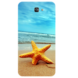 Star Fish Printed Case Cover For Samsung J7 Prime 2 by Mobiflip