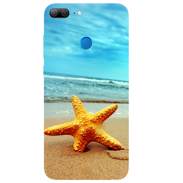 Star Fish Printed Case Cover For HONOR 9 Lite by Mobiflip
