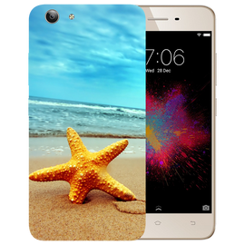 Star Fish Printed Case Cover For VIVO Y53 by Mobiflip