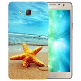 Star Fish Printed Case Cover For Samsung J2 2016 by Mobiflip