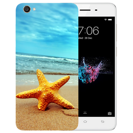 Star Fish Printed Case Cover For VIVO Y55 by Mobiflip