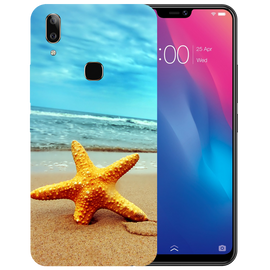 Star Fish Printed Case Cover For VIVO V9 Youth by Mobiflip